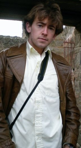 Ross Heintzkill circa 2007 in Pompeii